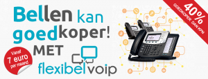 Goedkoper bellen met FlexibelVoip